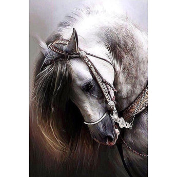 DiamondXpres Beautiful Horse Diamond Painting Kit