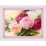 DiamondXpres Default Title Gorgeous Flowers Diamond Painting