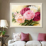 DiamondXpres Gorgeous Flowers Diamond Painting