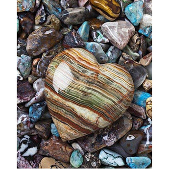 DiamondXpres Heart of Stone Diamond Painting