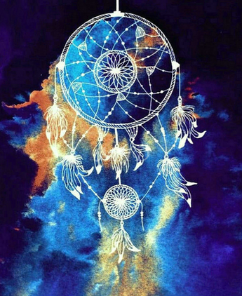 Wild Blue Dreamcatcher