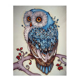 Embroidery Owl Diamond Painting