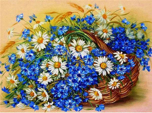 Flower Basket Diamond painting