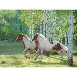 Forest horse Diamond painting
