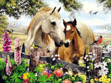 Garden Horse Diamond Painting