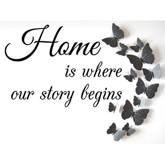 Home Story Round Diamond Painting