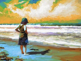 Beachcomber Diamond Painting