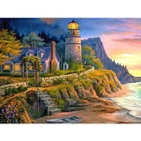 Lighthouse Scenery Diamond Painting