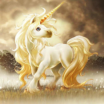 Magic Unicorn Diamond Painting