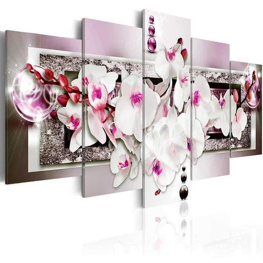Orchid Flower Diamond Painting