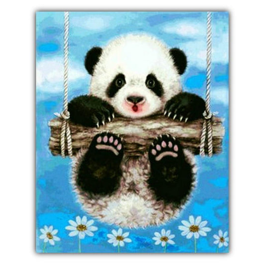 Panda Diamond Painting Round
