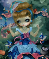 Princess Girl Diamond Painting Round