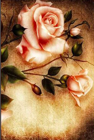 Rose Art Diamond Painting