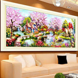 Spring Bloom Diamond Painting