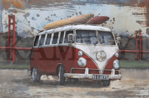 Surf Van Diamond Painting