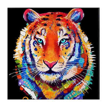 Tiger Diamond Painting Round