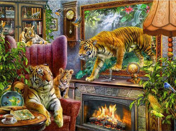 Tigers Everywhere Diamond Painting