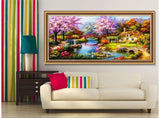 Tree And Flower Diamond Painting