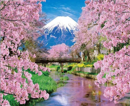 Tree Flower Mountain