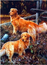 Two Labs Diamond Painting