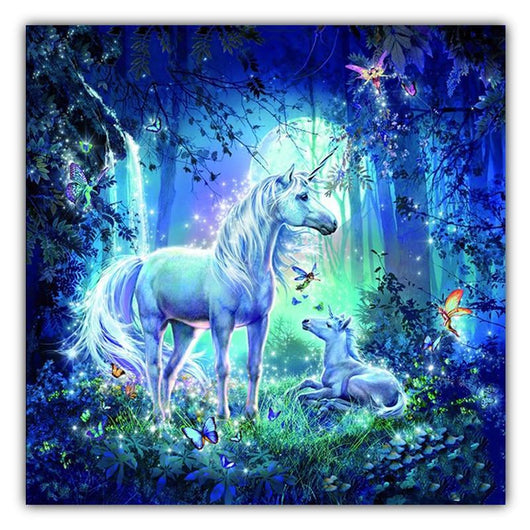 Unicorn Diamond Painting Round