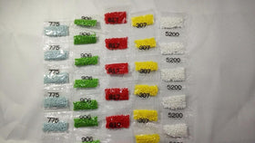 Wholesale Square Resin Diamonds 210-230pcs/bag 447Colors can choose