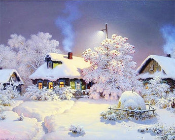 Winter Scene Diamond Painting