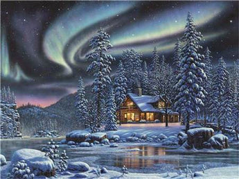 Winter Sky Diamond Painting