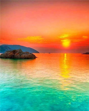 Wonderful Sunset Diamond Painting