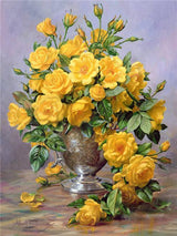 Yellow Flowers Diamond painting