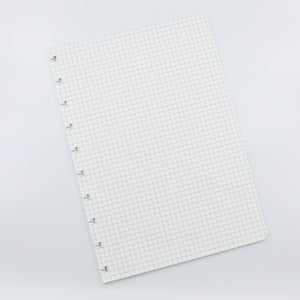 Squared notebook pages refill