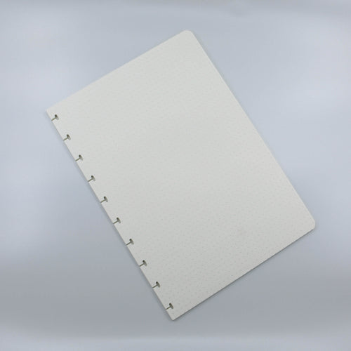 Dotted notebook pages refill