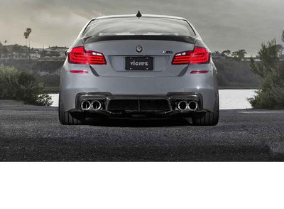 BMW 5 SERIES F10 M5 2011-2017 VS5 CARBON FIBER REAR DIFFUSER