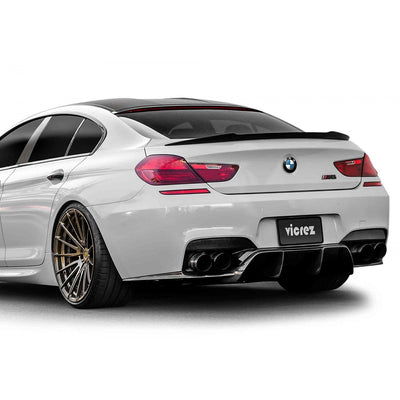 BMW 6 SERIES F06 M6 F12 2013-2017 VZ CARBON FIBER REAR WING SPOILER
