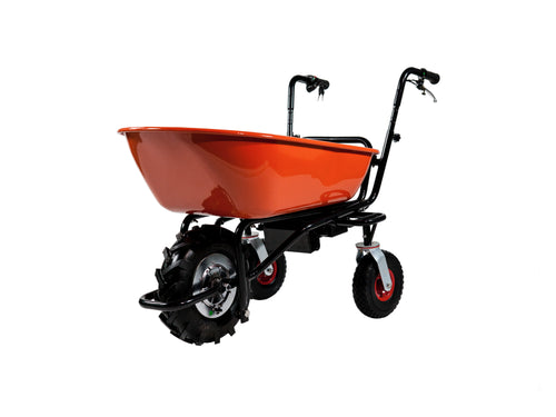 Electric Wheelbarrow 3 Wheel Steel Bin
