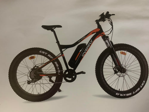 Overfly Electric Bike Warrior MW