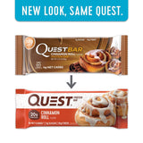 Quest Bar CINNAMON ROLL 1 Box/12 Bars