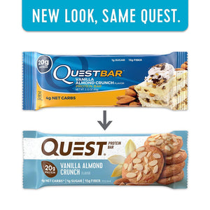 Quest Bar 1 Bar - Vanilla Almond Crunch