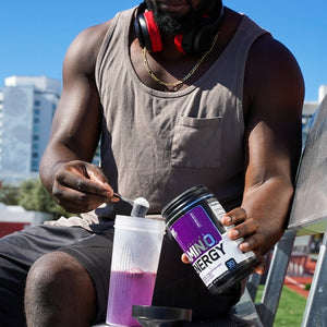 ON AMIN.O Energy 30 servings - Grape