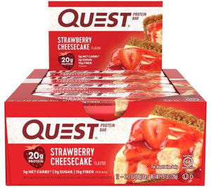 Quest Bar STRAWBERRY CHEESECAKE 1 Box/12Bars