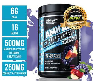 Nutrex Amino Charger Hydration 30servings -  Grape Apple
