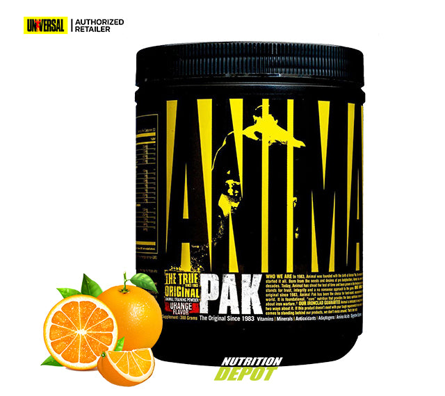 Universal Animal Pak Powder 388g - Orange วิตามินรวม