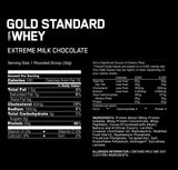 ON Gold Standard Whey 5lbs - Extreme Milk Chocolate
