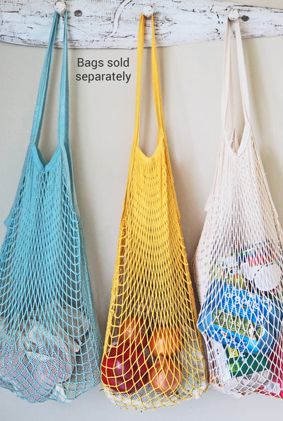 String bag. Extra-large string shopping bag They are a super lightweight mesh weave.