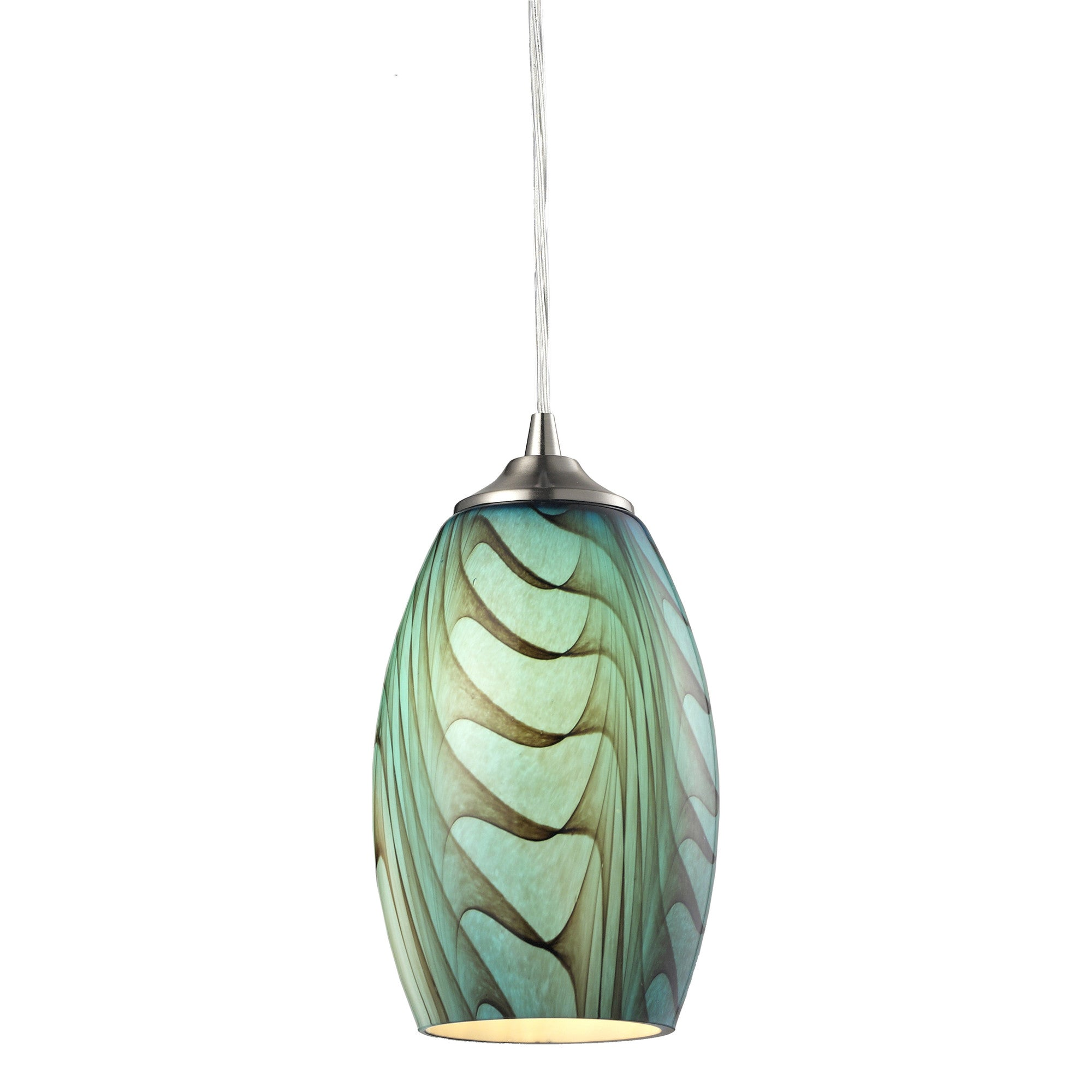 pacific lifestyle blown pendant glass pin adrienne lighting