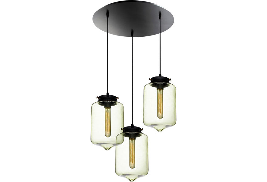 polished light glass with bulb collection p clear decorators chrome home and shade pendant lights vintage