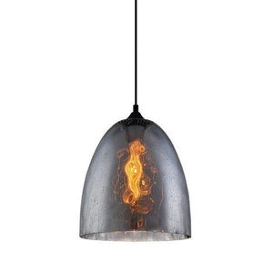 chuva black products light lighting rain cla pendant mojo ellipse glass smoke drop
