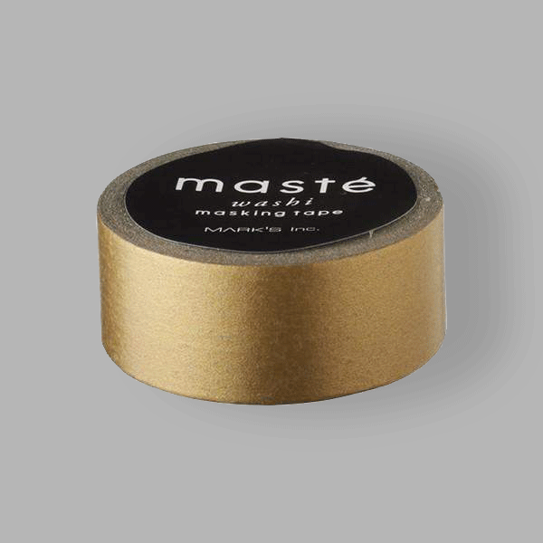 Washi Masking Tape - Gold