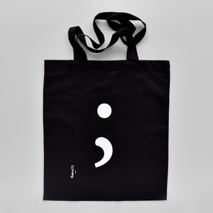 KaRiniTi - Tote Bag - Semicolon Print