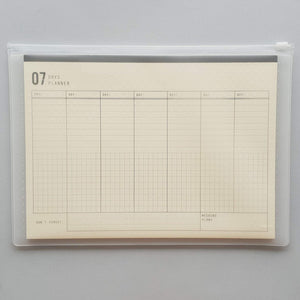 7 days planner - A4 Weekly organizer